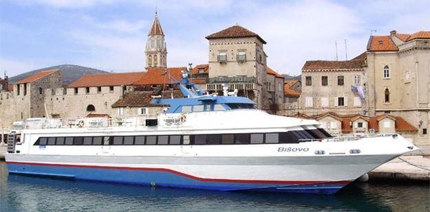 DO KRAJA KOLOVOZA Brzobrodska linija Zadar – Mali Lošinj – Pula