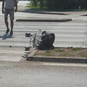 Pješakinja i dijete su dobro, vozač kazneno prijavljen zbog izazivanja prometne nesreće!