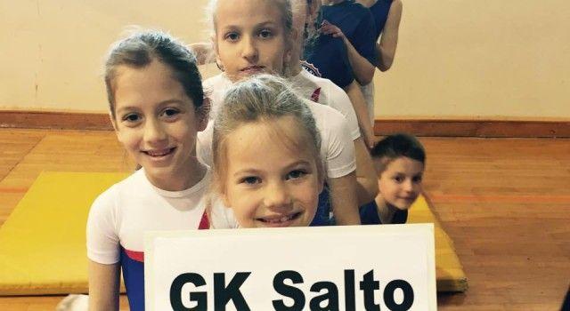 GIMNASTIČKI KLUB SALTO Treninzi počinju 1. rujna