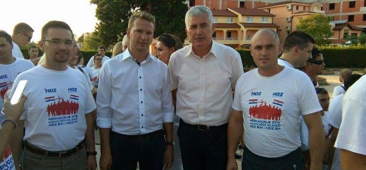 Josip Bilaver vodio mladež HDZ-a na hodočašće u Međugorje
