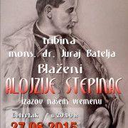 BENKOVAC Tribina o Blaženom Alojziju Stepincu