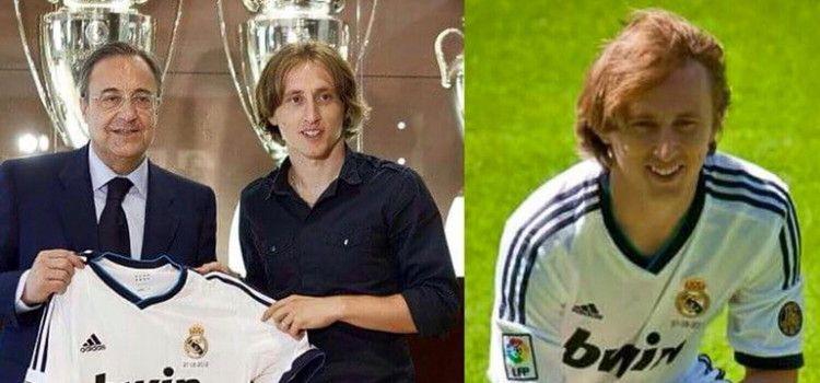 PLAĆEN 150.000 EURA TJEDNO Luka Modrić slavi 3. godišnjicu igre za Real Madrid
