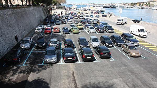 Počinje naplata parkinga na Liburnskoj obali, Zaraušeku i nasuprot starog kolodvora