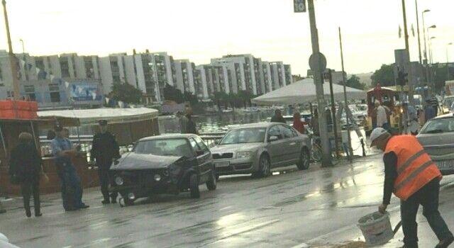 OZLIJEĐENA 54-GODIŠNJA ŽENA Polukružnim okretanjem kod mosta izazvao sudar!