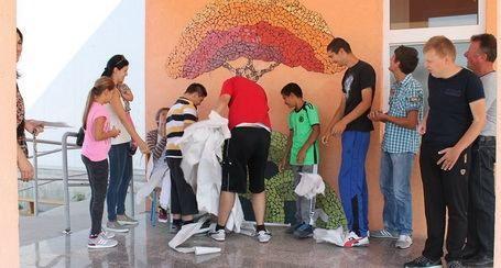 BENKOVAC U izradi mozaika pomagala i djeca s poteškoćama u razvoju