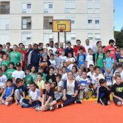 Zadarski mališani na Forumu uživali u igri s najboljim europskim košarkašima