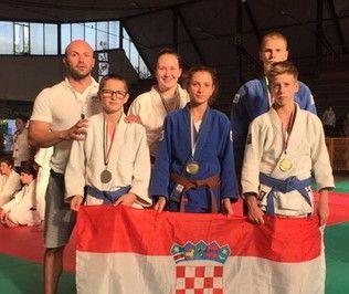 OLIMPIJADA MLADIH Zadarski judaši osvojili dvije zlatne i jednu srebrnu medalju