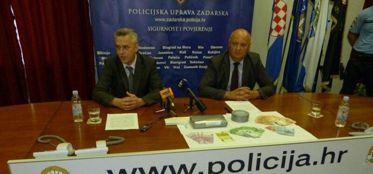USPJEH ZADARSKIH POLICAJACA Zaustavili kombi njemačkih tablica i zaplijenili više od kilograma kokaina