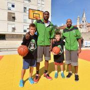 FOTOGALERIJA Zadarska djeca s poznatim košarkašima