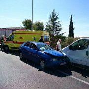FOTOGALERIJA Prometna nesreća u Bibinjama (Foto: Luka PAPIĆ)