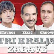 """NOVI ALBUM """"TRI KRALJA ZABAVE"""" Najveći hitovi Grdovića, Stavrosa i Zečića!"""