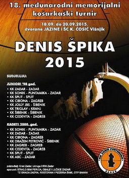 SJEĆANJE NA HEROJA Ukupno 16 ekipa na turniru za Denisa Špiku