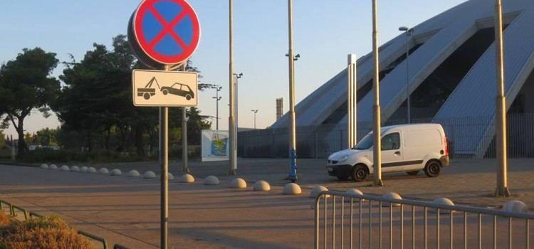 DVORANA VIŠNJIK Nova prometna regulacija na pristupnoj cesti