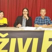 PAR SATI NAKON IZLASKA IZ PRITVORA Ivan Vilibor Sinčić održao predavanje u Zadru