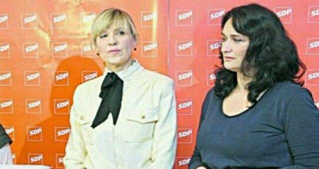 SDP-ovke Ingrid Antičević Marinović i Renata Sabljar Dračevac proslavile rođendan