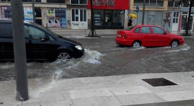 Zbog obilne kiše  poplavili dijelovi grada