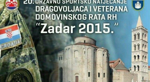 Zadarska županija domaćin 20. državnih športskih igara dragovoljaca i veterana