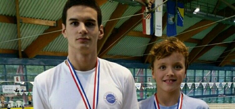 Plivački klub Jadera osvojio pehar i 11 medalja