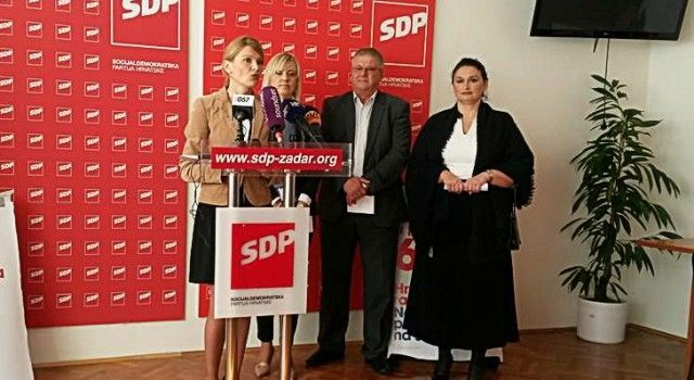 KRITIKE SDP-A: HDZ nudi na listi tri Sanaderova ministra, troje Ćaćine dice!