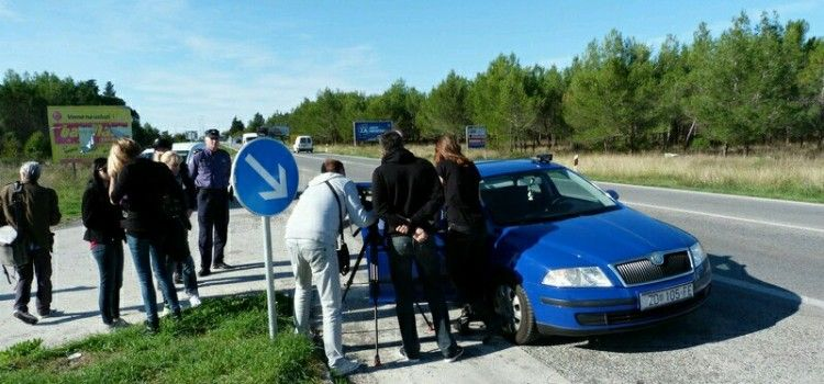Prezentacija novog uređaja za prepoznavanje i očitavanje registracijskih pločica vozila