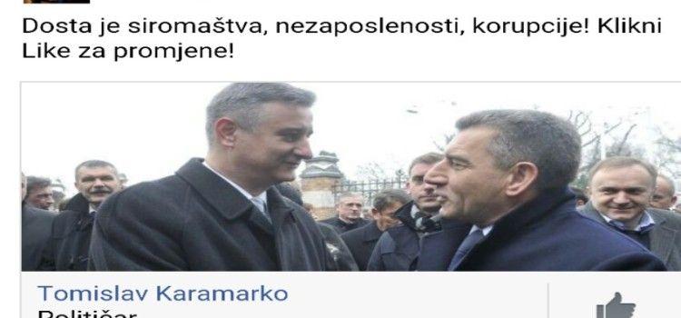 Karamarko koristi slike s Gotovinom za plaćenu promidžbu na Facebooku