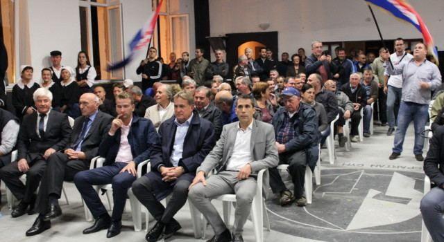 U Bibinjama održan predizborni skup HDZ-a