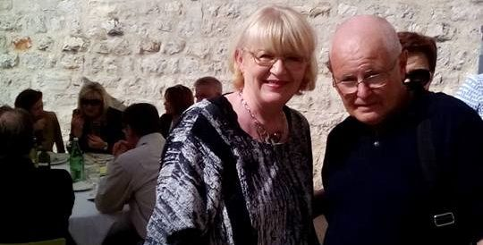 Najstariji student Neven Škrokov poželio rektorici Dijani Vican uspjeh u radu