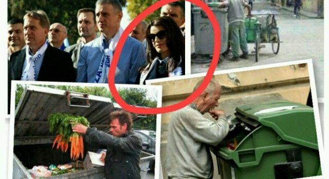 DAJTE JOJ GLAS Tisuće Hrvata hranu traži u smeću, a Josipa Rimac nosi torbe od 20.000 kuna