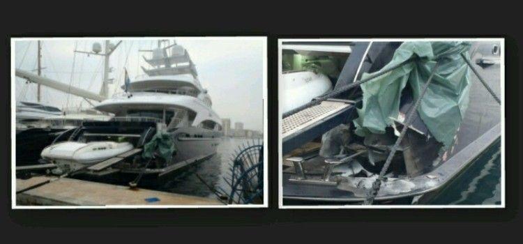 Eksplozija na jahti u Tankerkomercovoj marini