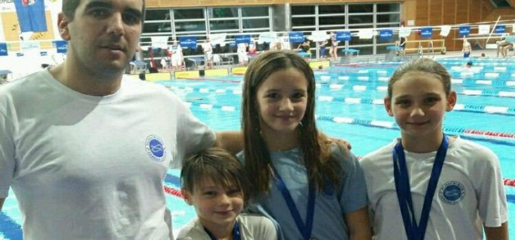 MEĐUNARODNI PLIVAČKI MITING Plivački klub Jadera osvojio 14 medalja