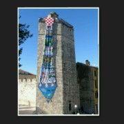 KRAVATA DUGA 20 METARA Zadru na dar izradili je učenici OŠ Zadarski otoci