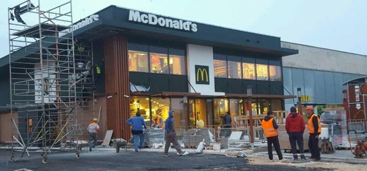 RADOVI PRI KRAJU McDonald's i Billa uskoro otvaraju vrata posjetiteljima!