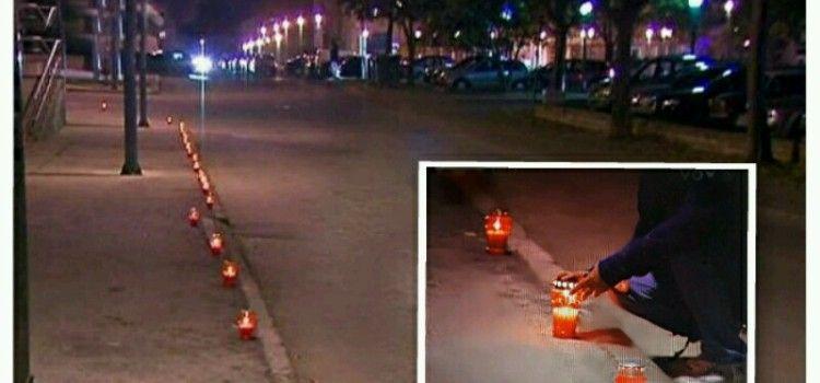 LAMPIONI U VUKOVARSKOJ ULICI U ZADRU Da se ne zaborave Vukovar i Škabrnja