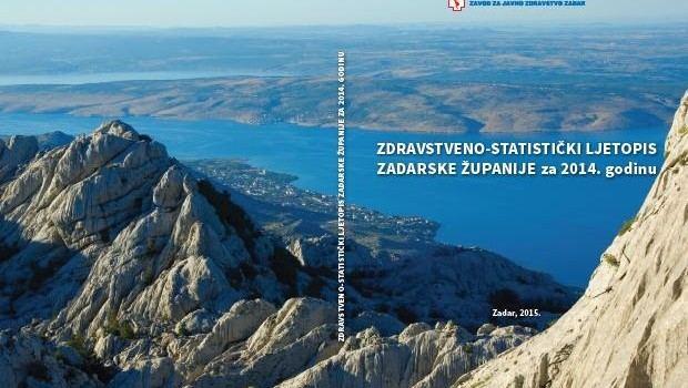 ZAVOD ZA JAVNO ZDRAVSTVO IZDAO NOVU PUBLIKACIJU Zdravstveno stanje pučanstva u Zadarskoj županiji