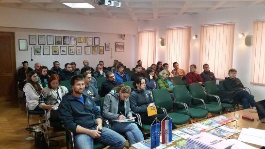 U SKLOPU PROJEKTA WLDLIFE WATCH Polaznici završili tečaj za turističkog pratitelja