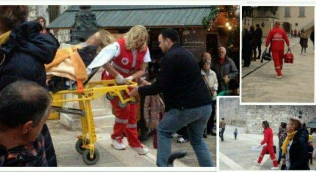 FOTO Zadranka se onesvijestila, građani je oživljavali do dolaska Hitne pomoći!