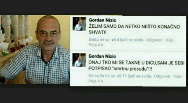 """ODVJETNIK GORDAN NIŽIĆ: Tko mi se takne u djecu, potpisao je sebi """"smrtnu presudu""""!"""