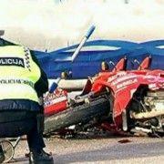 U prometnoj nesreći smrtno stradao motociklist