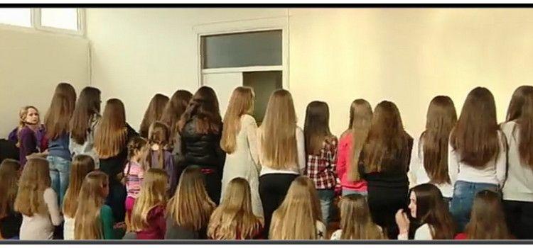 55 djevojčica doniralo kosu za izradu vlasulja djeci oboljeloj od karcinoma!