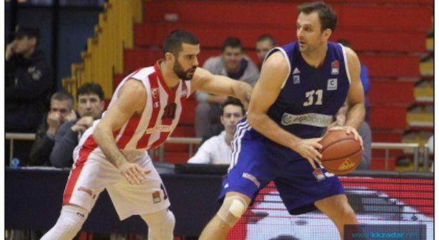 ZADAR IZGUBIO U BEOGRADU Crvena zvijezda pobjedila rezultatom 83-57