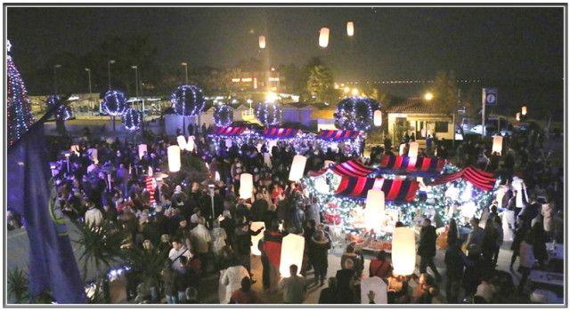 BOŽIĆ NA VIRU UZ DRAŽENA ZEČIĆA U nebo poletjelo na stotine lampiona!