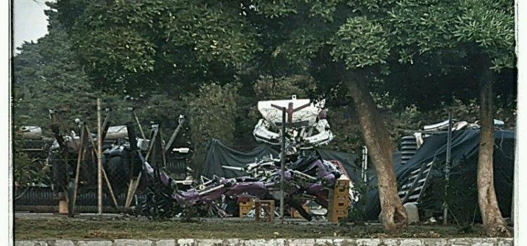 TRANSFORMERI PRETVORENI U HRPU ŽELJEZA Oštećeni leže na prostoru Pauk službe Zadar