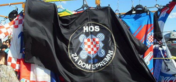 BENKOVAČKI SAJAM Zastave i ustaško znakovlje jučer se dobro prodavalo