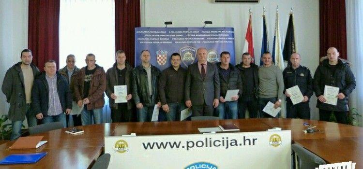 NAGRAĐENO 14 ZADARSKIH POLICAJACA Uspješno rješavali razbojništva i podigli ugled policije!