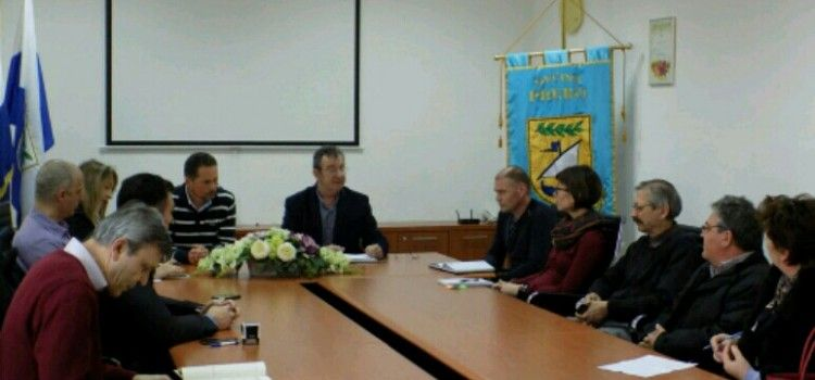 Potpisivanje ugovora povodom početka radova na projektu 'Aglomeracija Preko-Kali-Otok Ugljan'