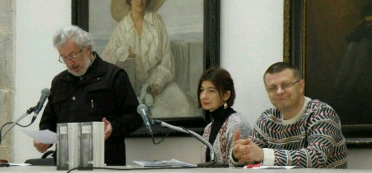 """GRADSKA LOŽA Predstavljene knjige """"Vrt"""" Tomislava Marijana Bilosnića i """"Posvajanje neba"""" Lane Derkač"""