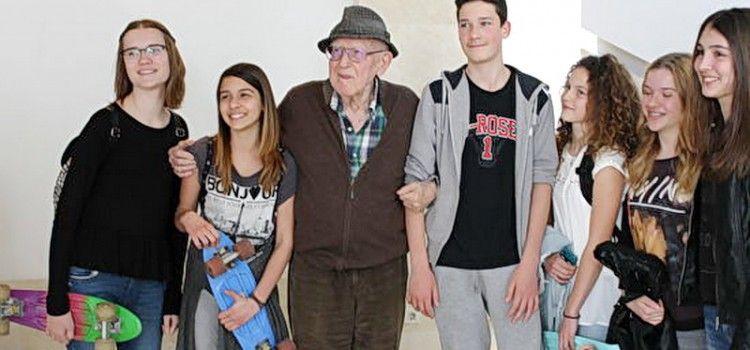 DOBITNIK DVA OSCARA BRANKO LUSTIG PONOVO U ZADRU Održao predavanje učenicima