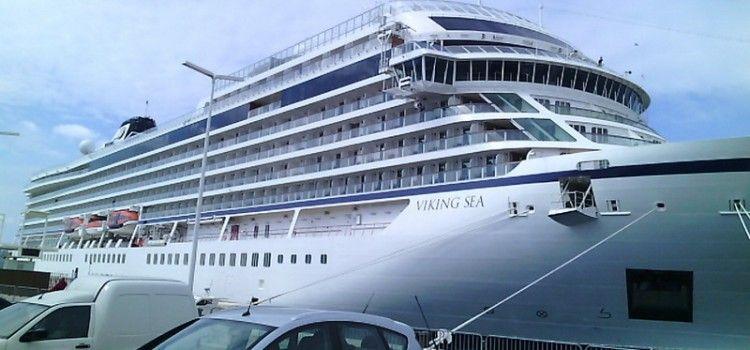 PRVI OVOGODIŠNJI CRUISER STIGAO U ZADAR Viking sea doplovio s tisuću putnika!