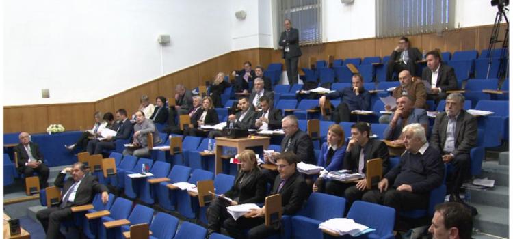SJEDNICA GRADSKOG VIJEĆA Gradonačelnik Kalmeta podnosi izvješće o radu