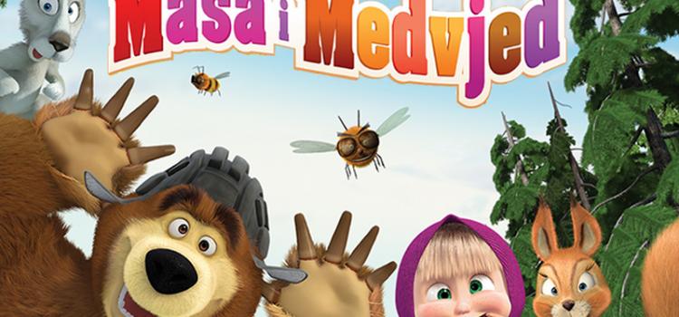 Ulaznice za Mašu i Medvjeda nabavite u subotu od 15 do 20 sati!